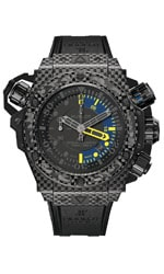 Hublot: King Power Oceanographic 1000 Carbon