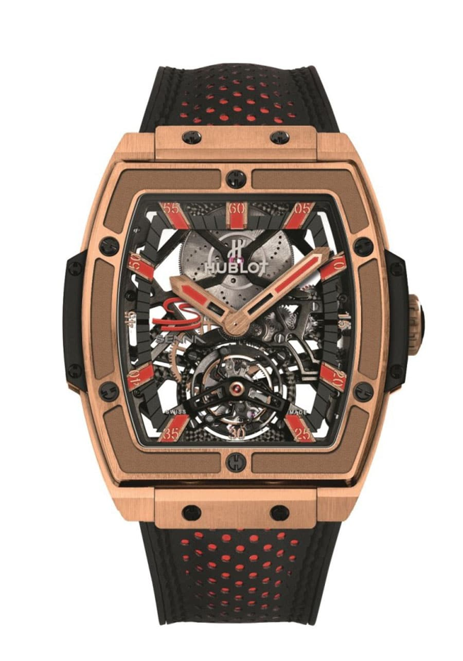 Hublot: MP-06 Senna in King Gold