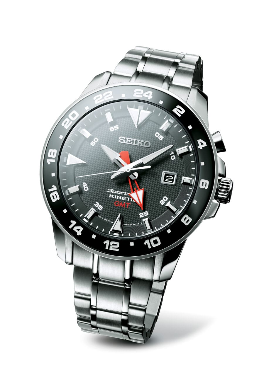Seiko: Sportura Kinetic GMT SUN015P1