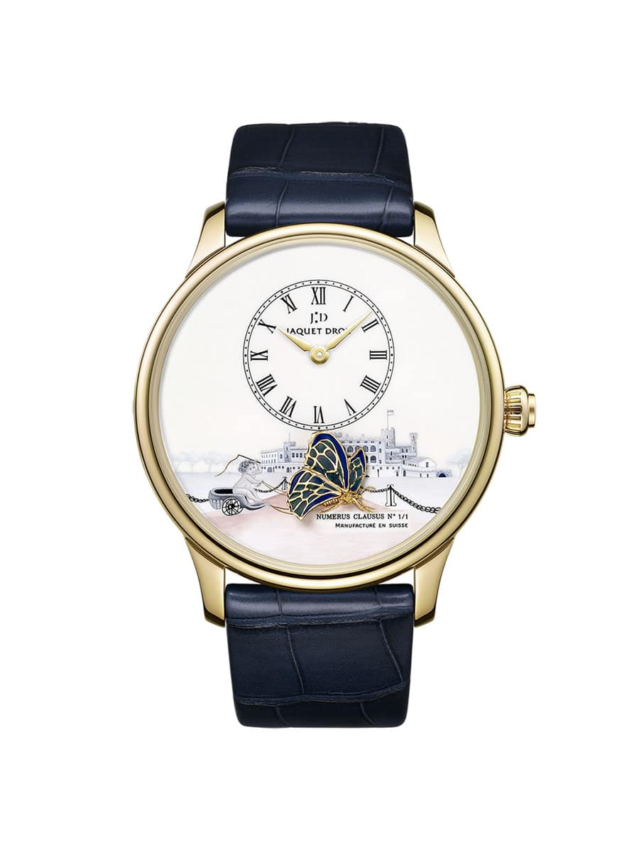Jaquet Droz: The Loving Butterfly Only Watch 2013