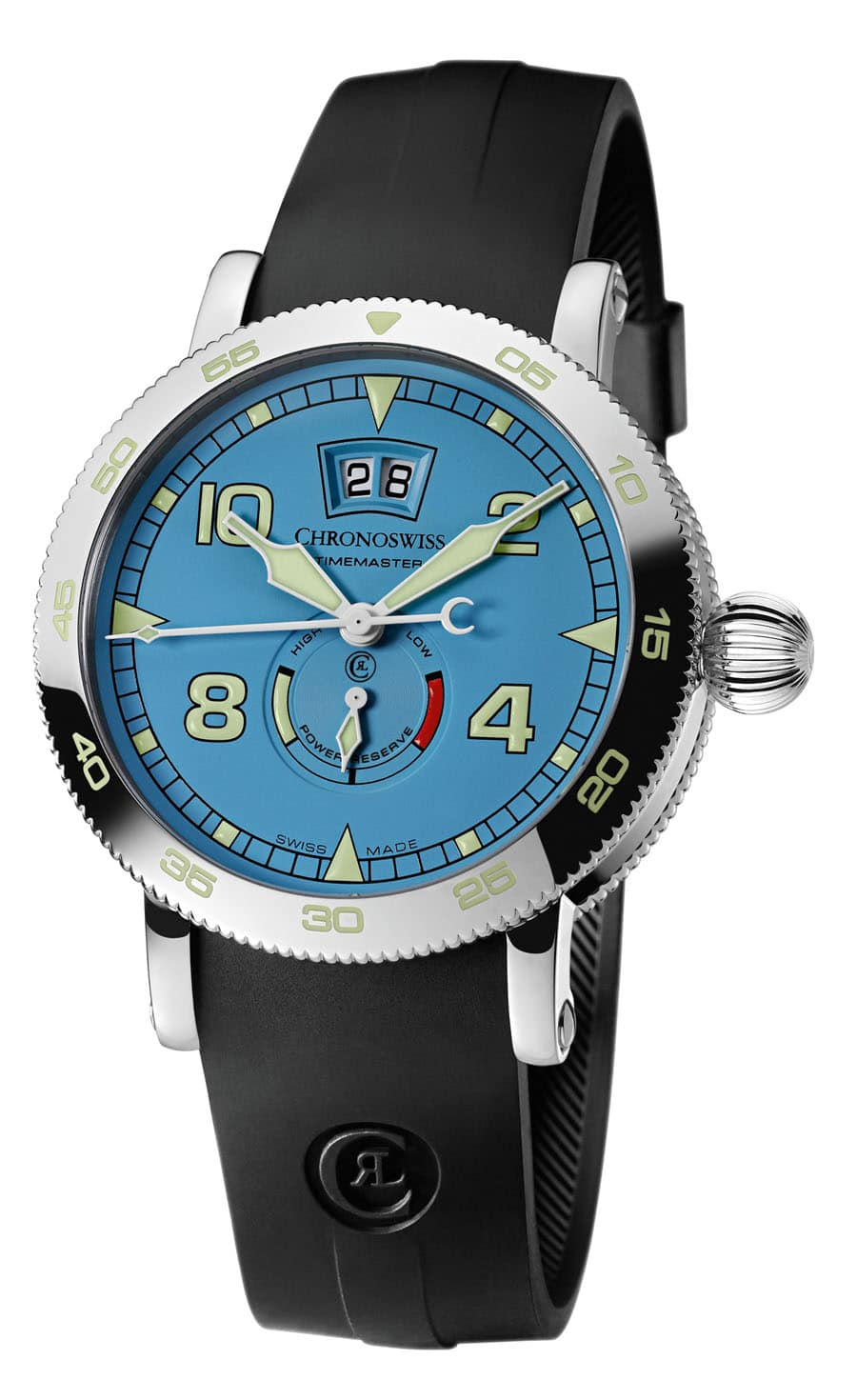 Chronoswiss: Timemaster Big Date Skyblue