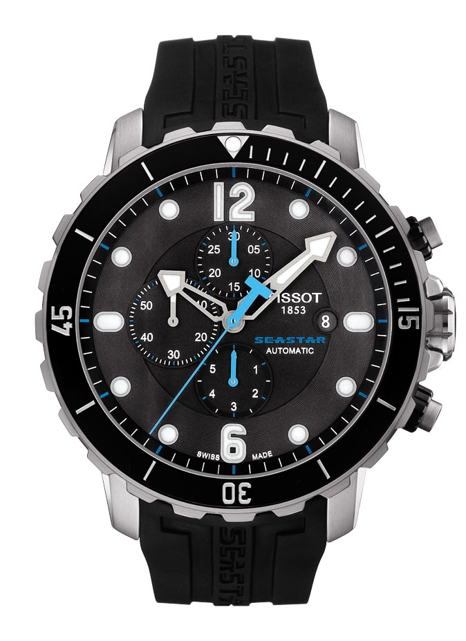 Taucheruhr 2014: Tissot Seastar 1000 Automatic Chronograph