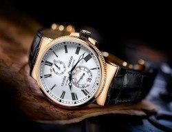Mit einer Sonderedition des Marine Chronometers unterstützt Ulysse Nardin die Auktion Only Watch.
