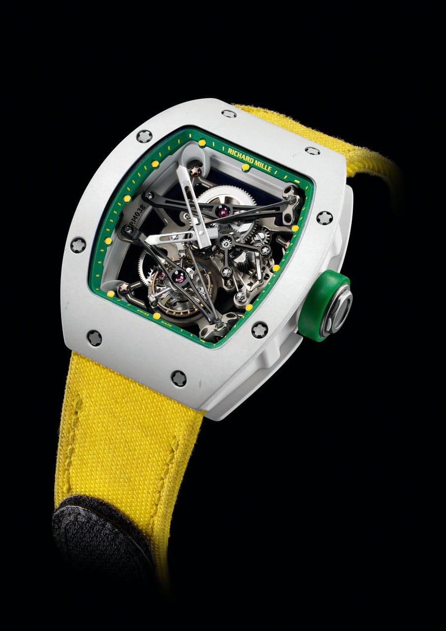 Richard Mille: Yohan Blake Tourbillon Prototype für Only Watch