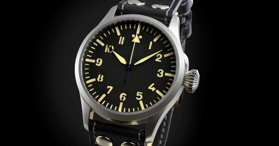 In der Pilot Old Radium Automatic tickt ein Sellita SW 200-1