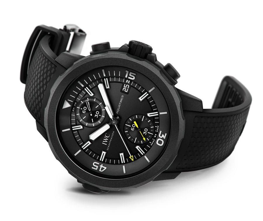 Taucheruhr 2014: IWC Aquatimer Chronograph Edition Galapagos Islands