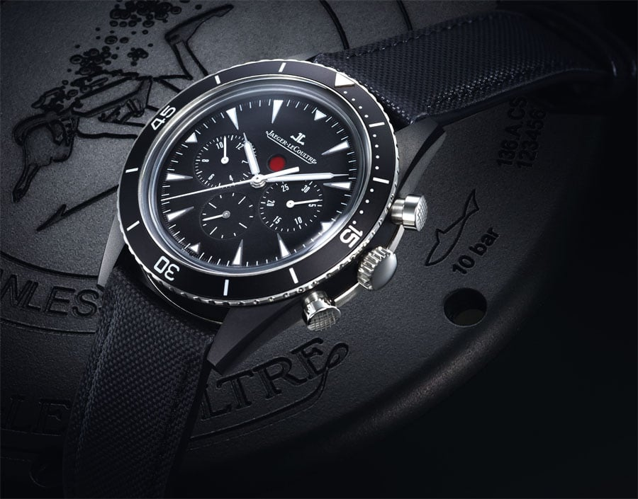Jaeger LeCoultre: Deep See Chronograph Cermet