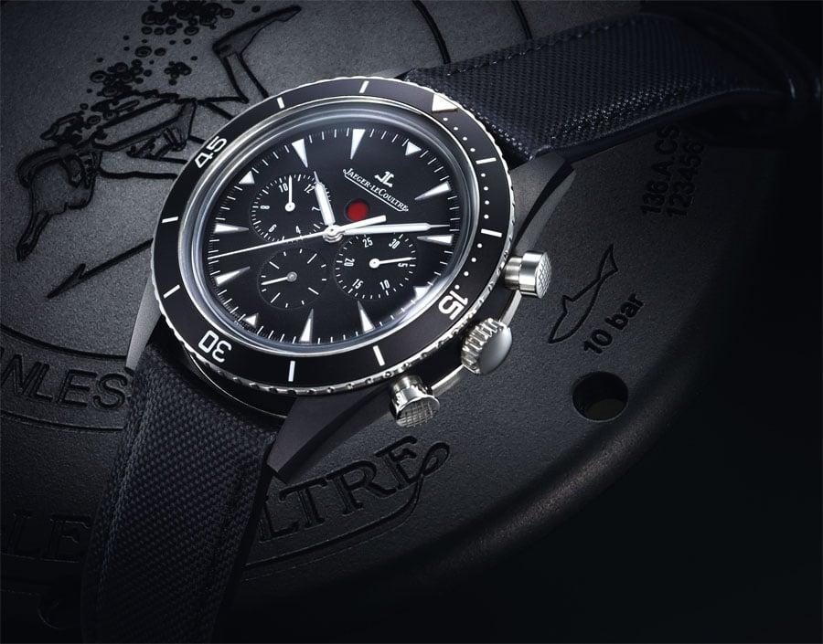 Jaeger LeCoultre: Deep See Chronograph Cermet