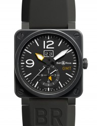 Bell & Ross: BR03 51 GMT Carbon