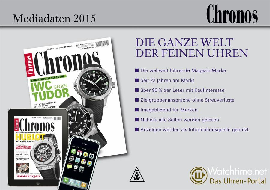 Chronos Mediadaten 2015