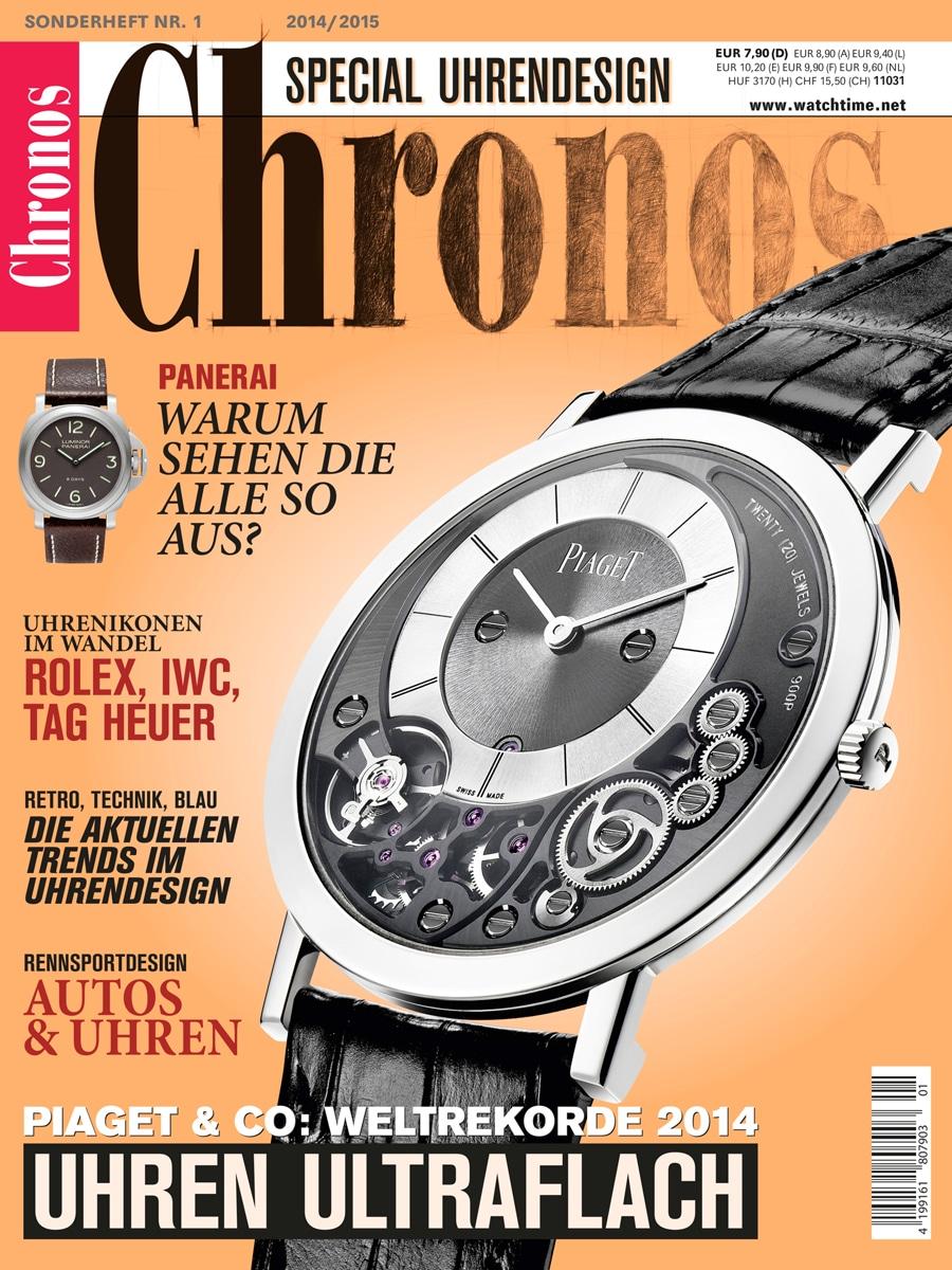 Chronos Special Uhrendesign 2014/2015
