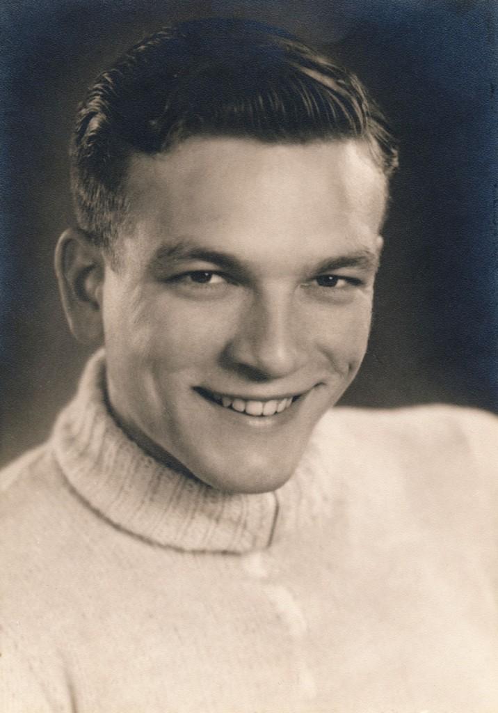 1943: Karl-Heinz Kiefer im Alter von 18 Jahren kurz vor der Einberufung zur Kriegsmarine. Foto: Karl-Heinz Kiefer