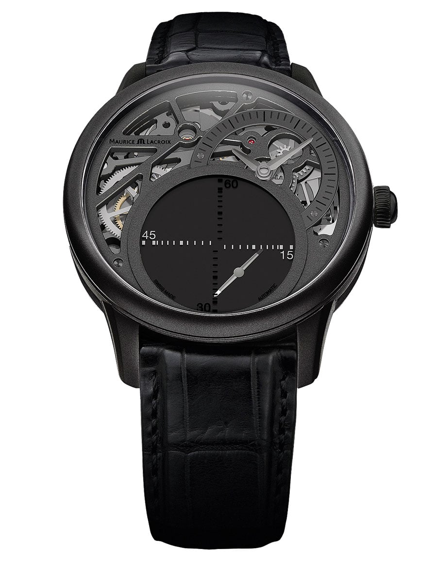 Maurice Lacroix: Masterpiece Seconde Mystérieuse Only Watch 2013