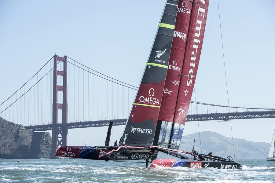 Omega ist auf seine Partnerschaft mit dem Emirates Team New Zealand sehr stolz