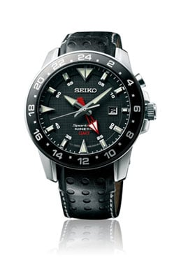 Seiko: Sportura Kinetic GMT SUN15P2