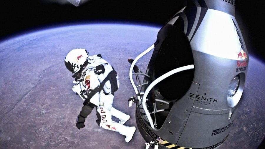 Stratosphärensprung Felix Baumgartner