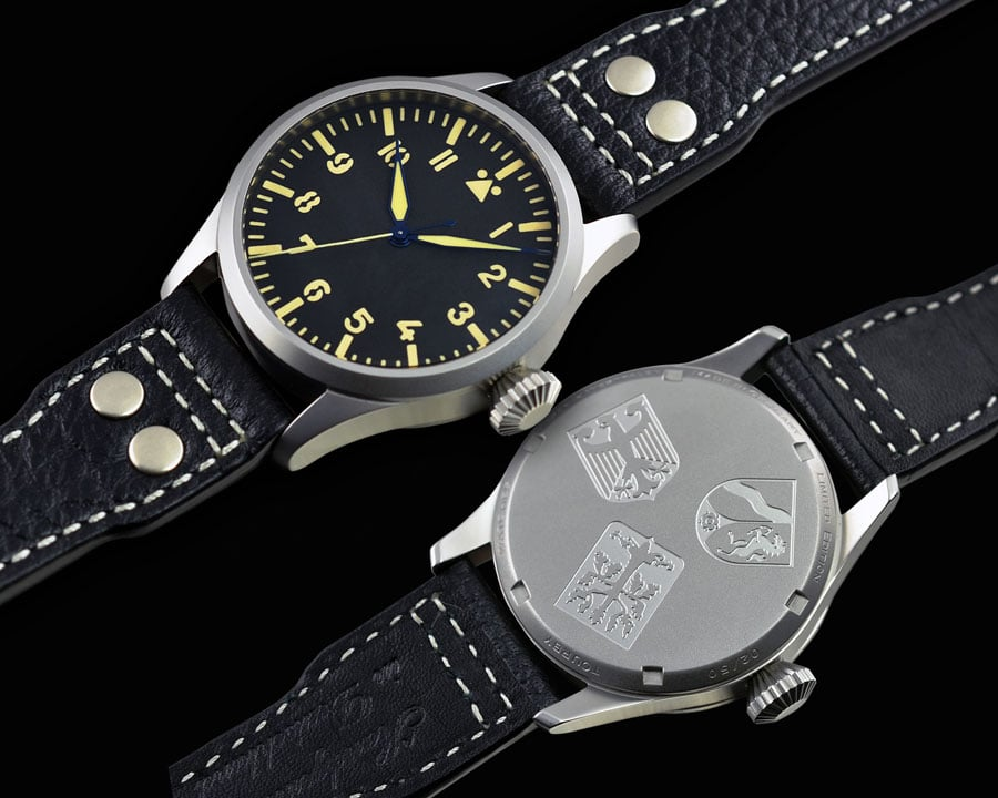 Tourby Watches: Pilot Old Radium Automatic