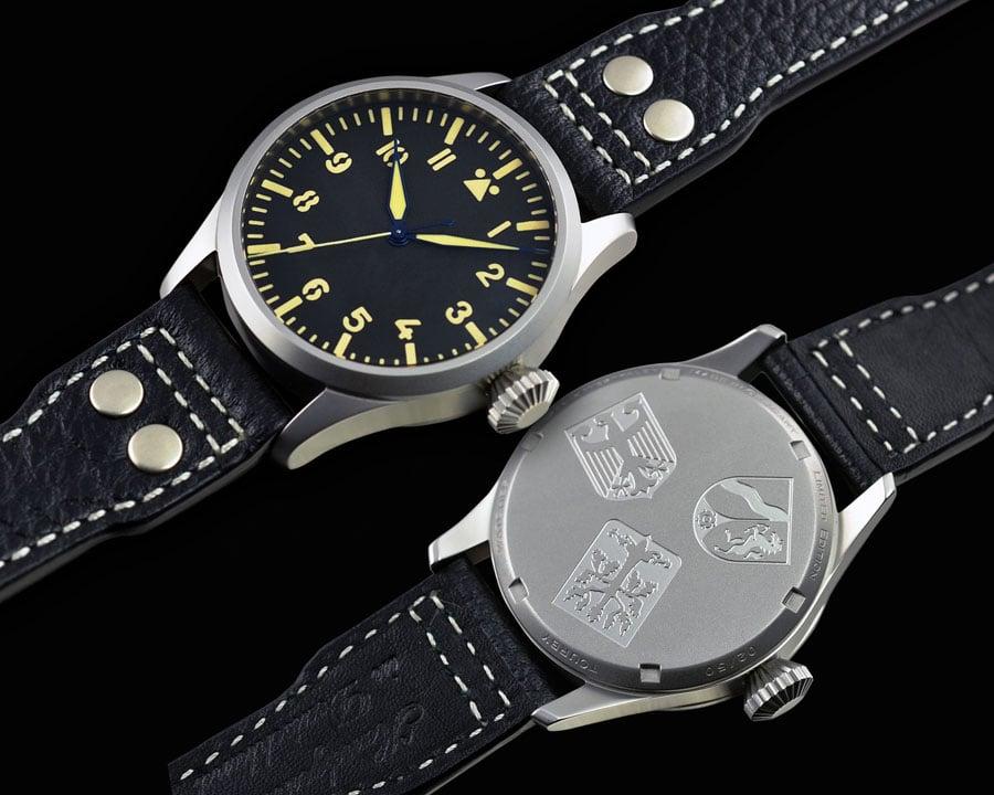 Tourby Watches: Pilot Old Radium Automatic