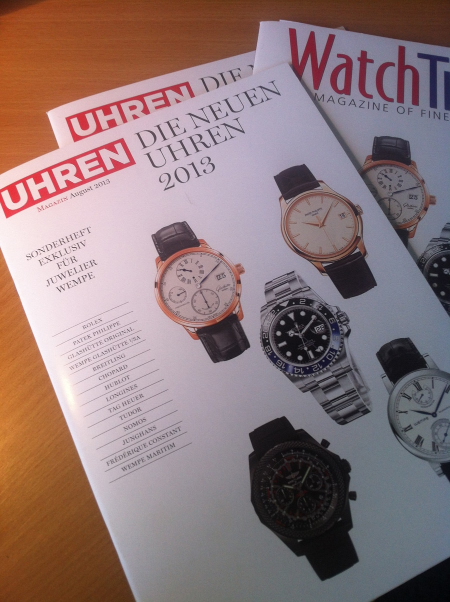 UHREN-MAGAZIN Special Baselworld 2013