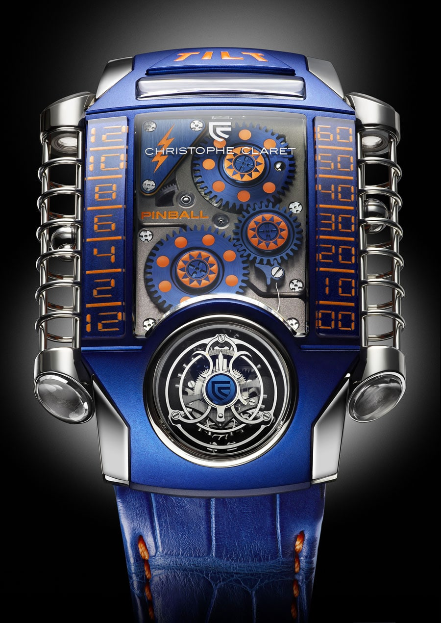 Christophe Claret: X-TREM-1 Pinball für Only Watch 2013