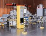 Die Atomuhr CS2 im Atomuhrensaal in Braunschweig