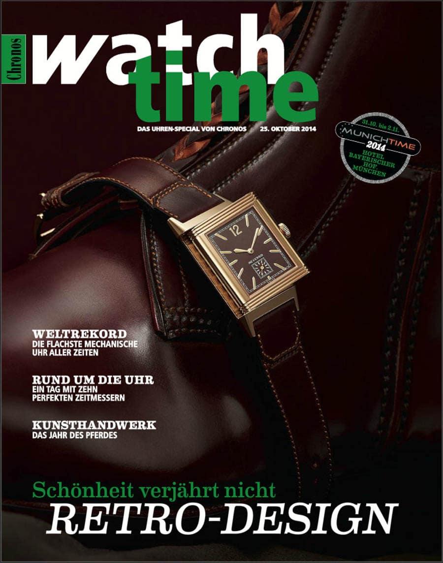 E-Paper Watchtime, Chronos-Beilage Süddeutsche Zeitung