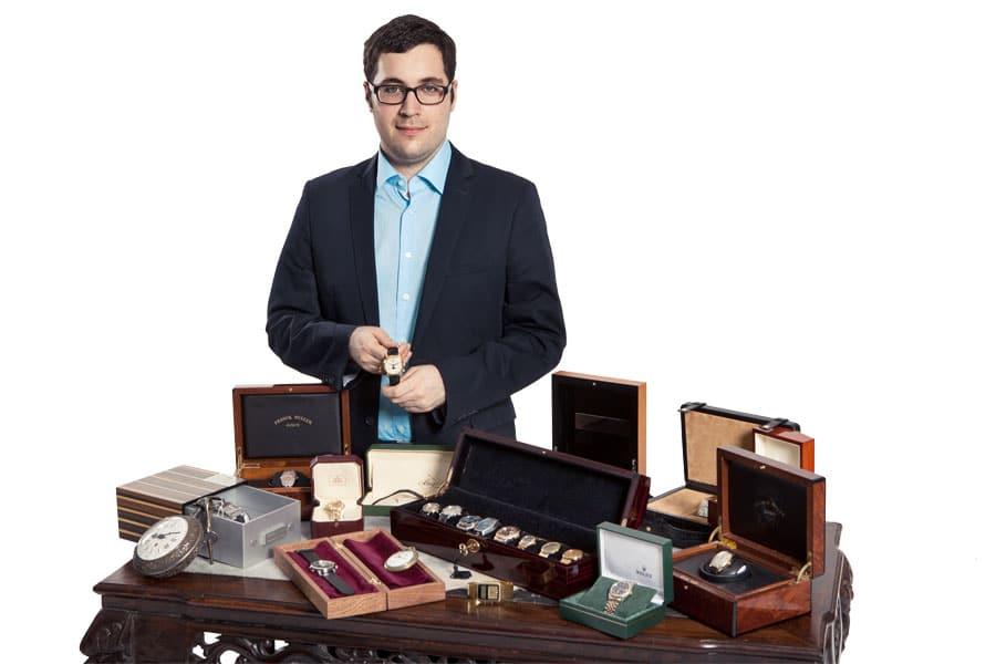 Dr. Oliver Hoffmann ist Armband- und Taschenuhrenexperte von Auctionata