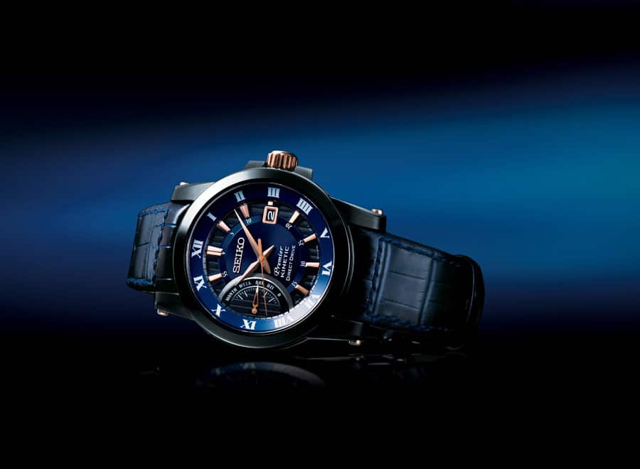 """Seiko Premier Kinetic Direct Drive SRG012P1 Special Edition """"25 Jahre Kinetic"""""""