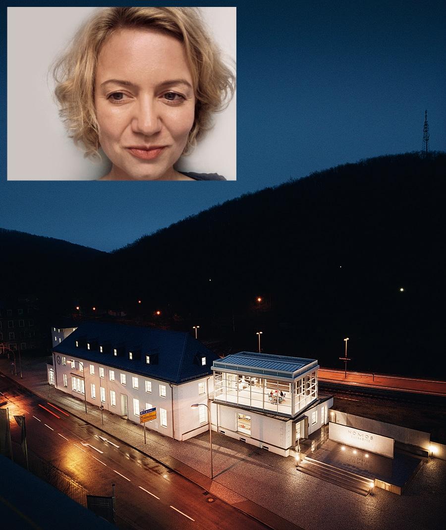 Standort Glashütte: Nomos bei Nacht - Standort Berlin: Judith Borowski
