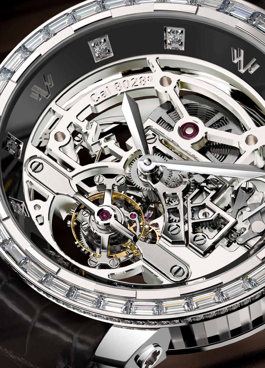DeWit: Skelettiertes Zifferblatt für Only Watch 2013