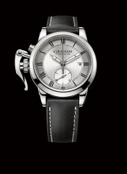 Graham: Chronofighter 1695 Silver