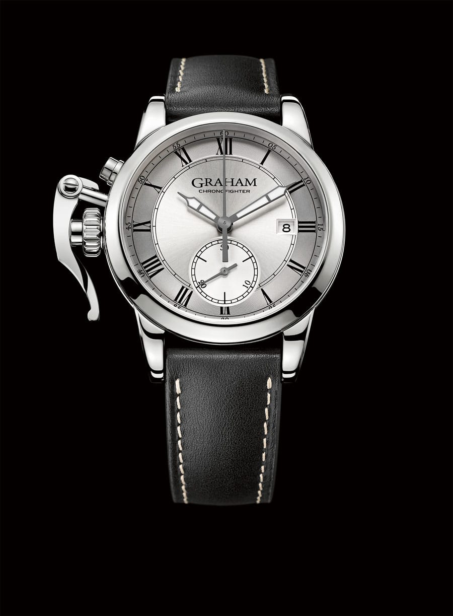 Graham: Chronofighter 1695 Silver