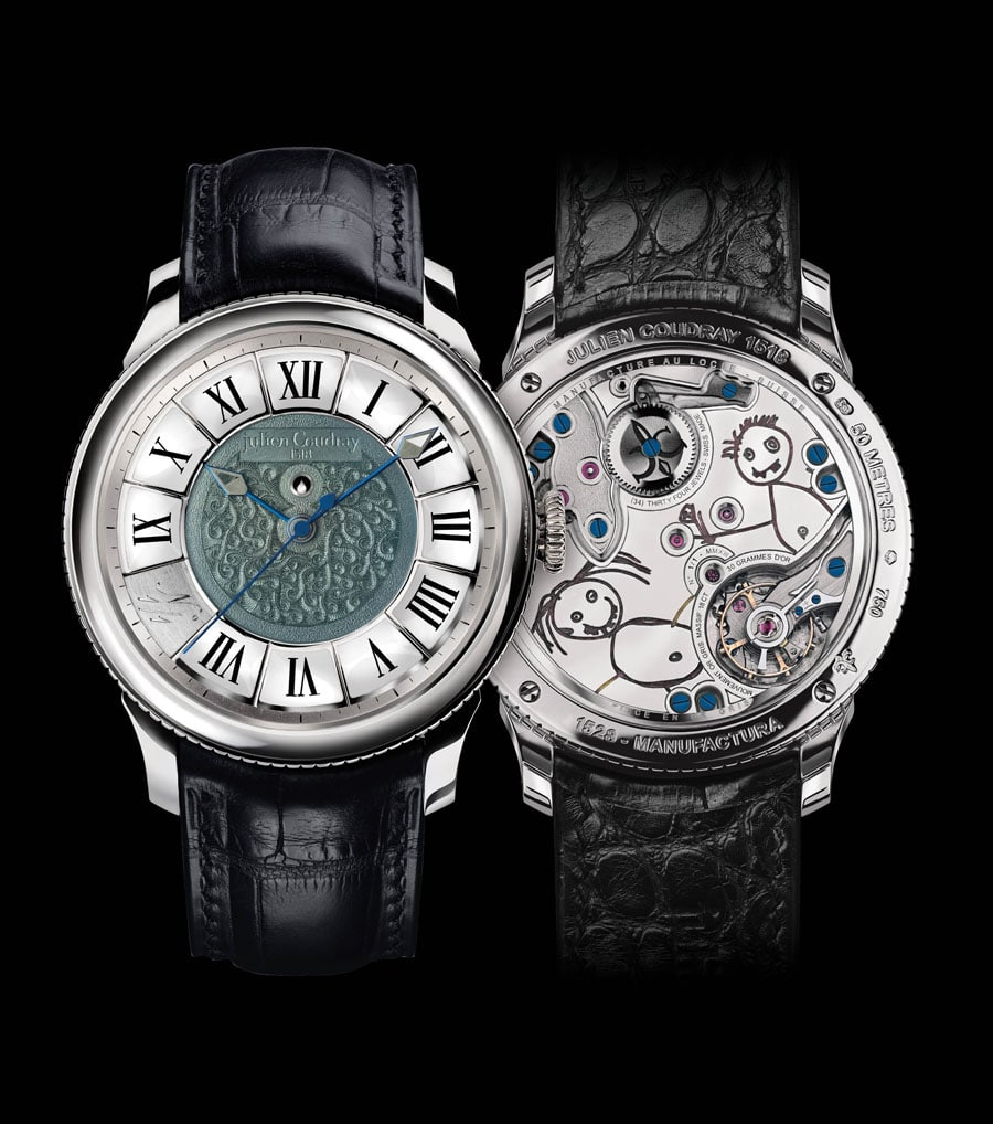 Julien Coudray 1518: Manufactura 1528 Masterpiece Only Watch 2013