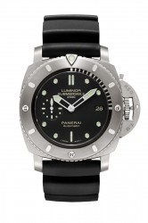 Panerai: Luminor Submersible 1950 2500m 3 Days Automatic Titanio