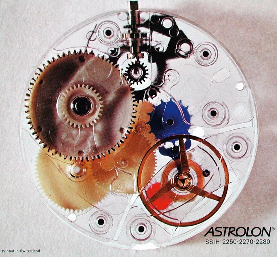 Tissot: Kaliber Astrolon