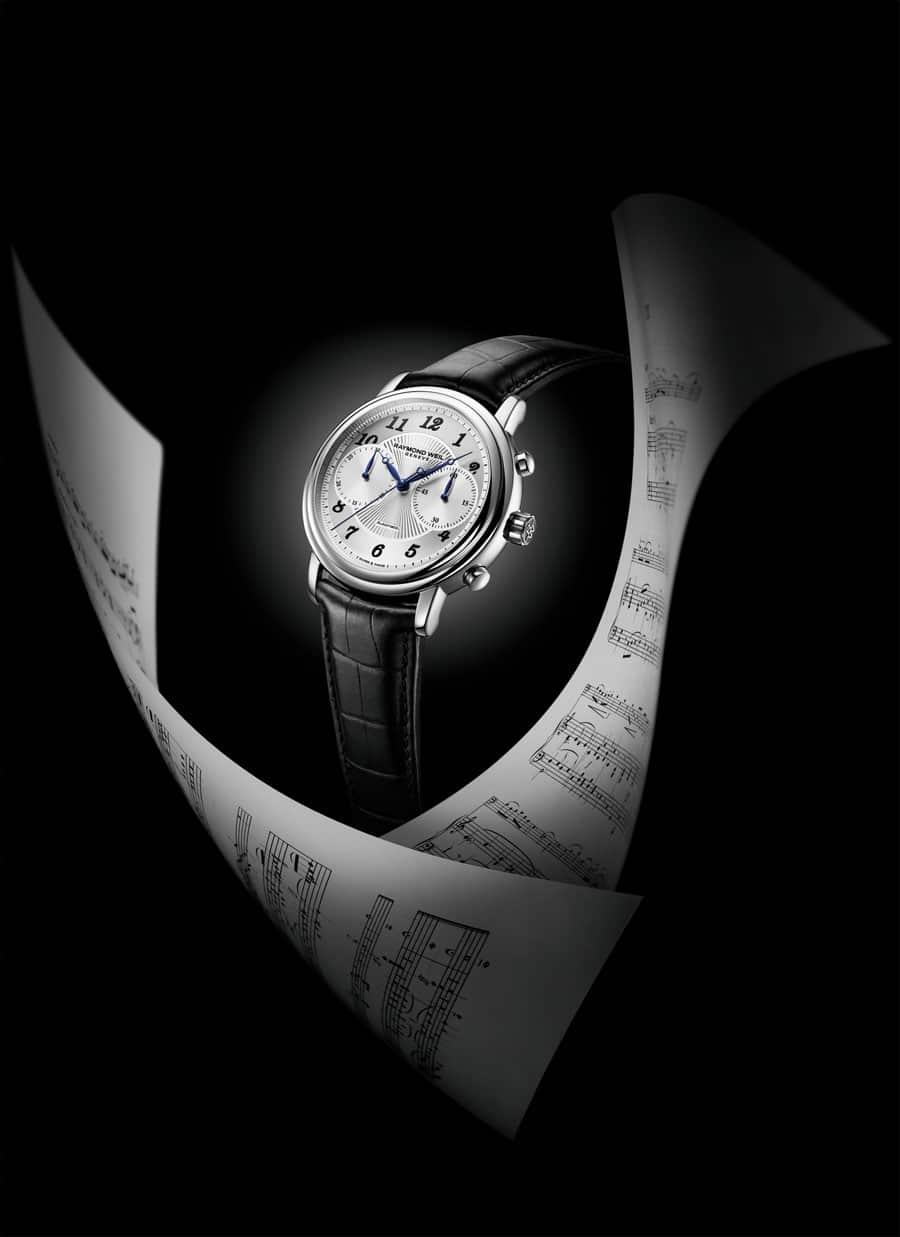 Raymond Weil: Der Maestro Chronograph wurde zum ersten Mal 2011 präsentiert
