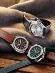 Die neuen Uhren von Jeanrichard passen zur Herbst-Stimmung.