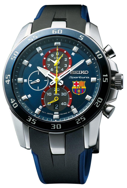 Der sportive Chrono bietet eine retrograde Stoppfunktion bis zu 3-mal 40 Minuten in 1/100-Sekundenschritten und Zwischenzeit.