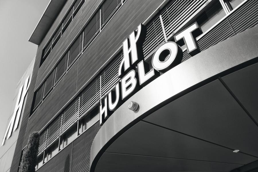 Hublot-Firmenzentrale in Nyon