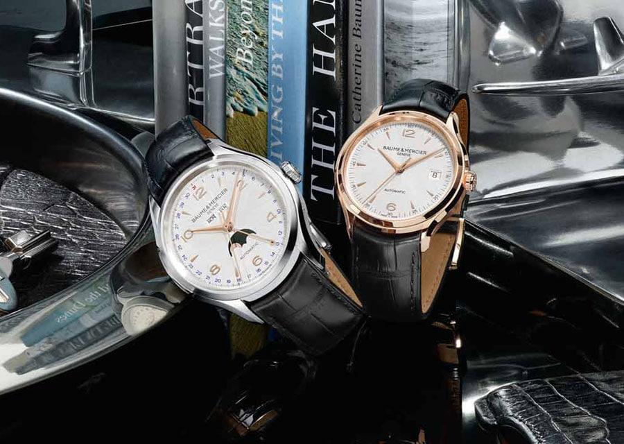 Baume & Mercier: Clifton 10055 und 10058