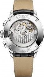 Im Innern tickt das Eta-Chronographenkaliber Valjoux 7750