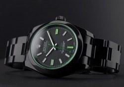 "Blaken: Rolex Milgauss by Blaken ""Viper Green"""