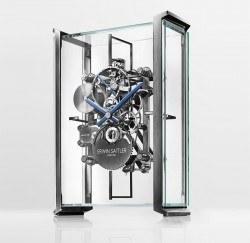 In eigenständigem Design und mit ihrem völlig neuen Kaliber ist diese Uhr ein richtiges Kunstwerk.