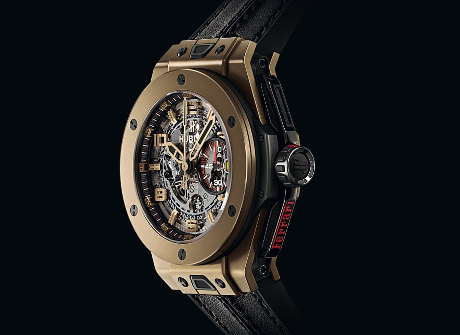 "Hublot: Big Bang Ferrari aus ""Magic Gold"""