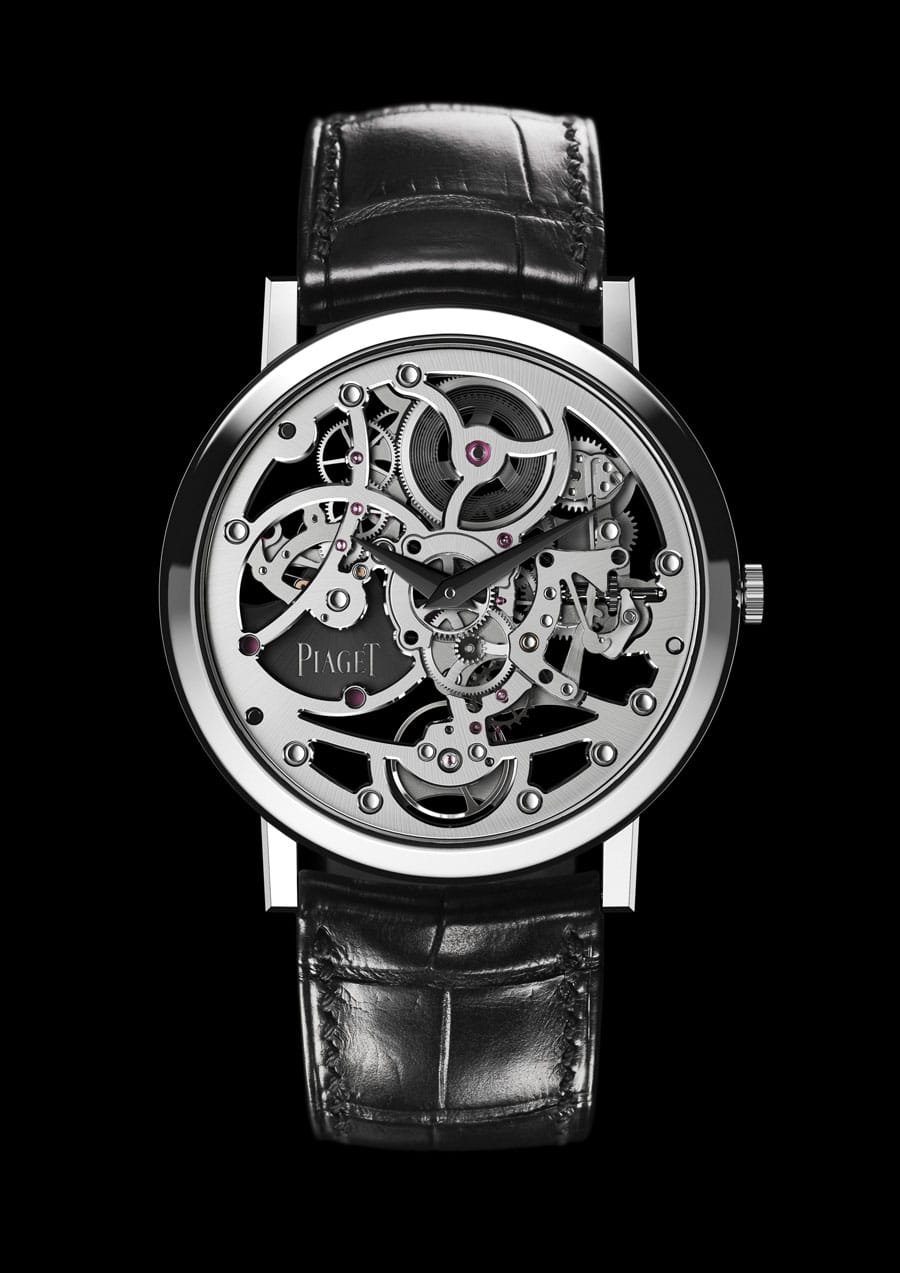 Piaget: Altiplano Skeleton Ultra-Thin