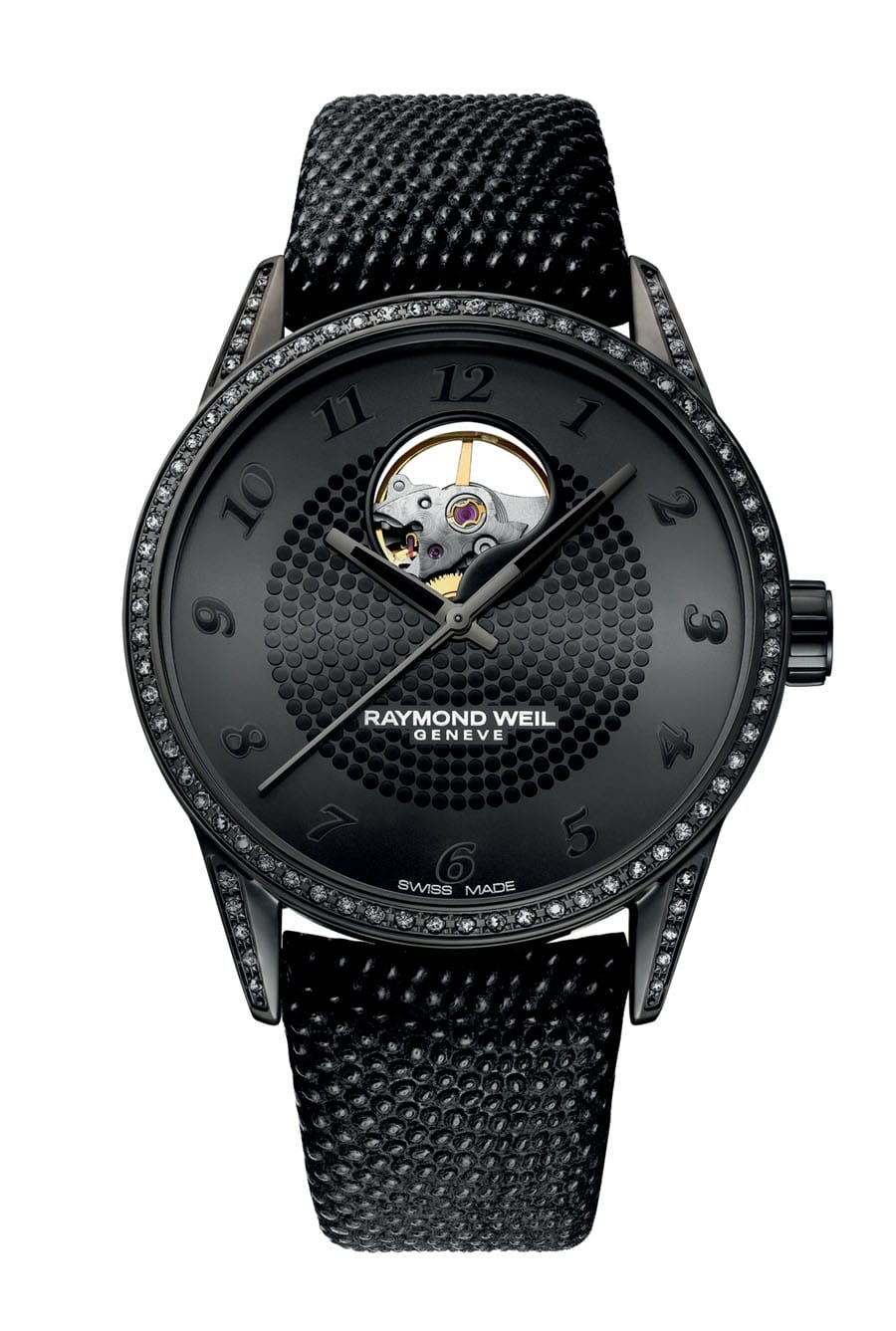 Raymond Weil: Freelancer Lady Urban Black