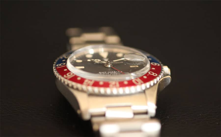 Rolex: GMT Master Referenz 1675 Maxi Dial