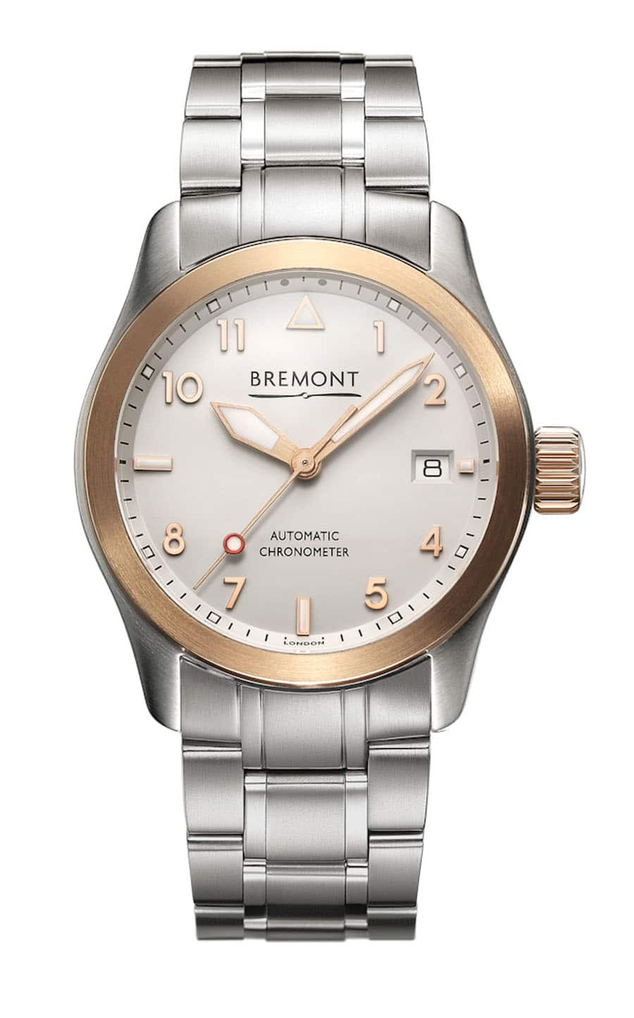 Bremont: Solo 37 mit Metallband