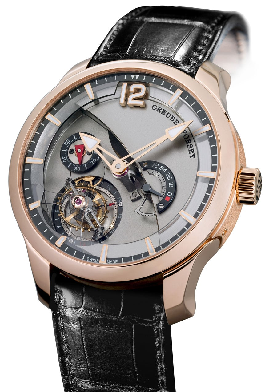 Tourbillon 24 Secondes Contemporain Rotgold