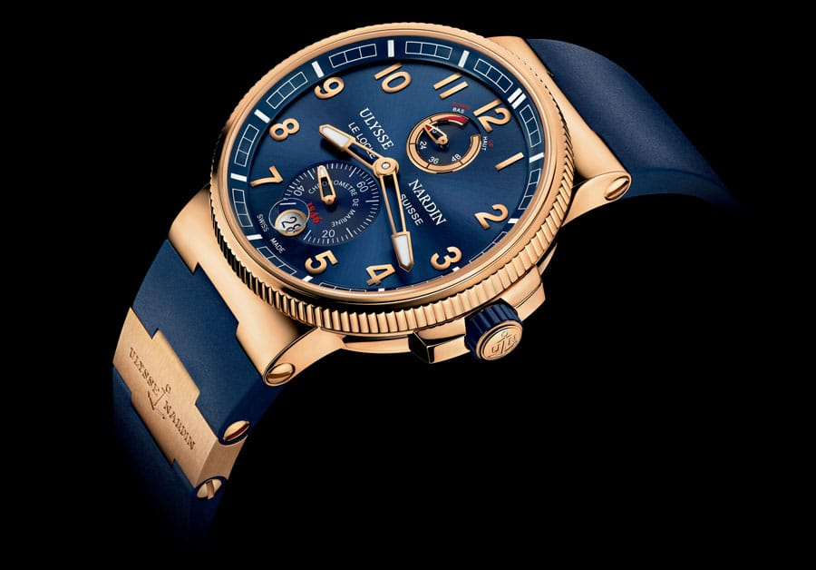 Ulysse Nardin: Marine Chronometer Manufacture Roségold, 2013